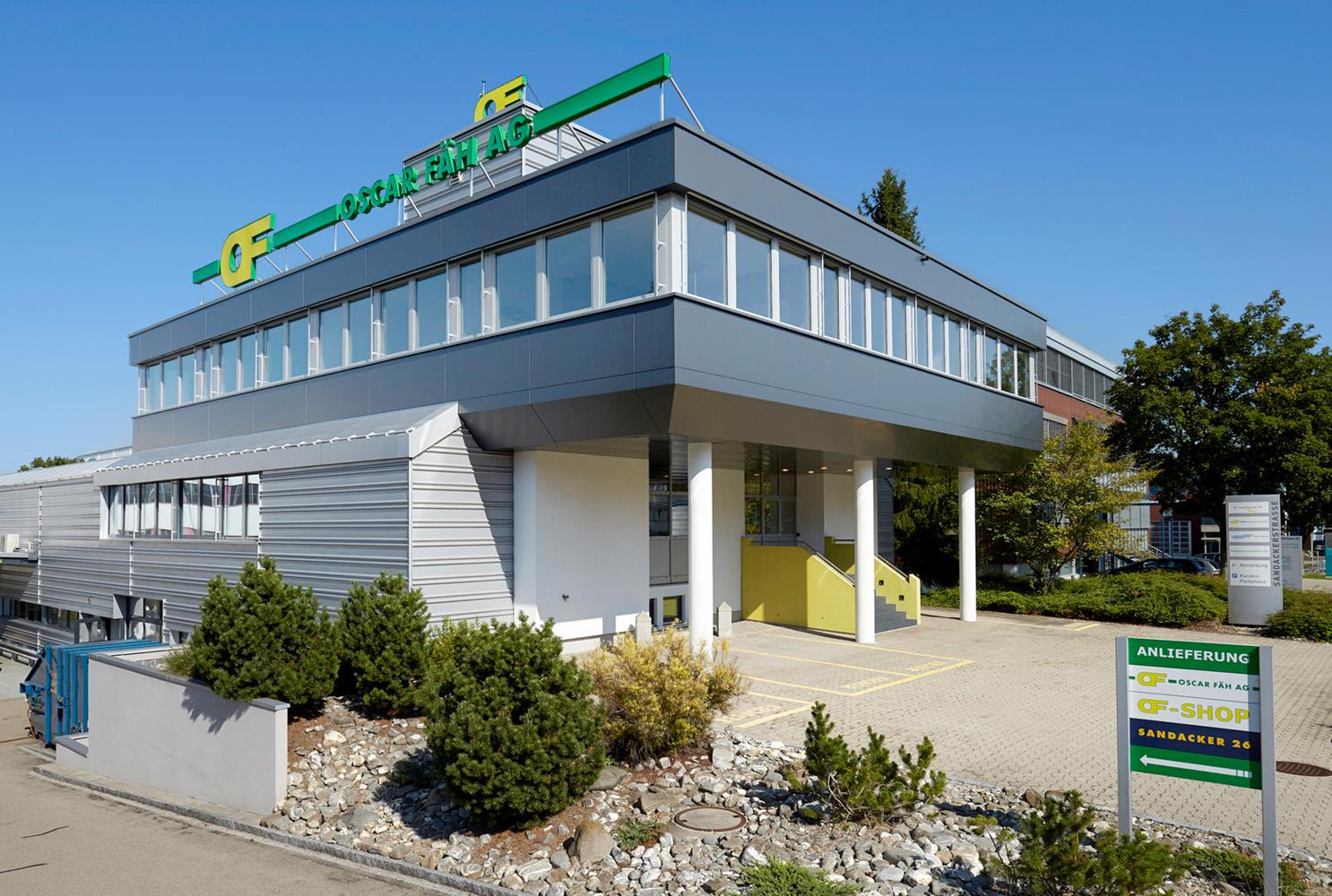 Gebäude Oscar Fäh in Oberbüren
